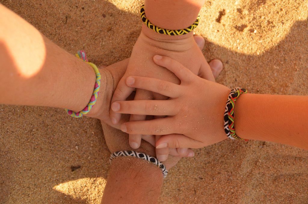 手, 手镯, 友谊, 公约 》, 朋友, 沙子, 1707051655