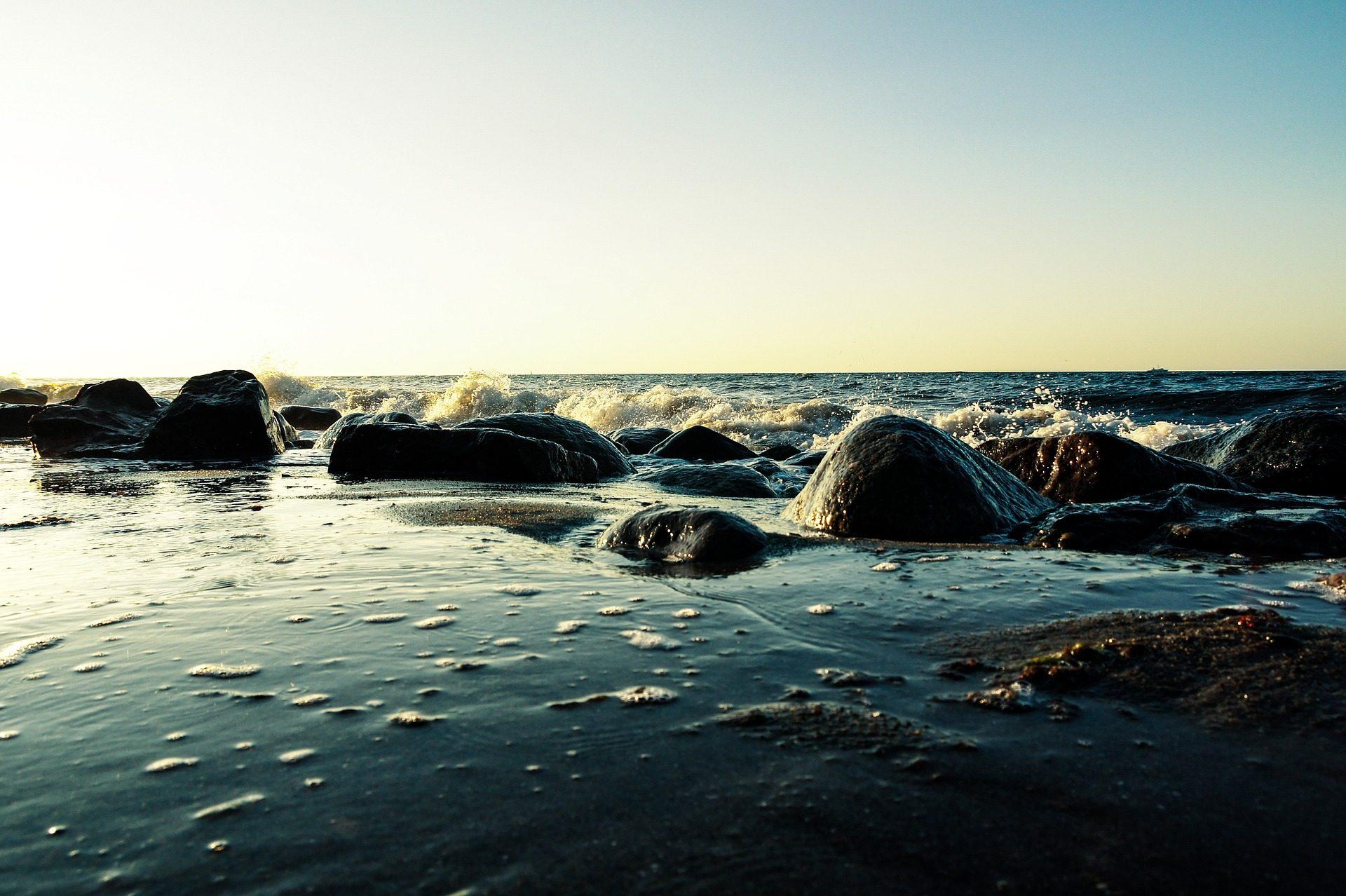 mar, océano, piedras, rocas, agua, olas - Fondos de Pantalla HD - professor-falken.com