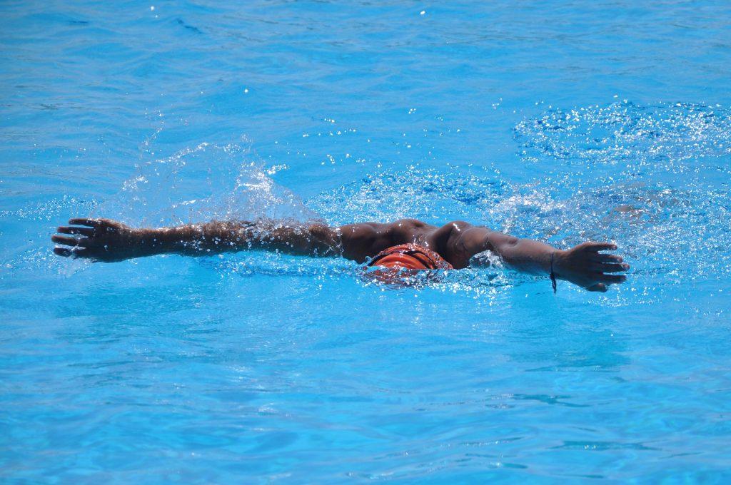 nadador, 游泳, 竞争, 职业生涯, 中风, 帽, 1707250811
