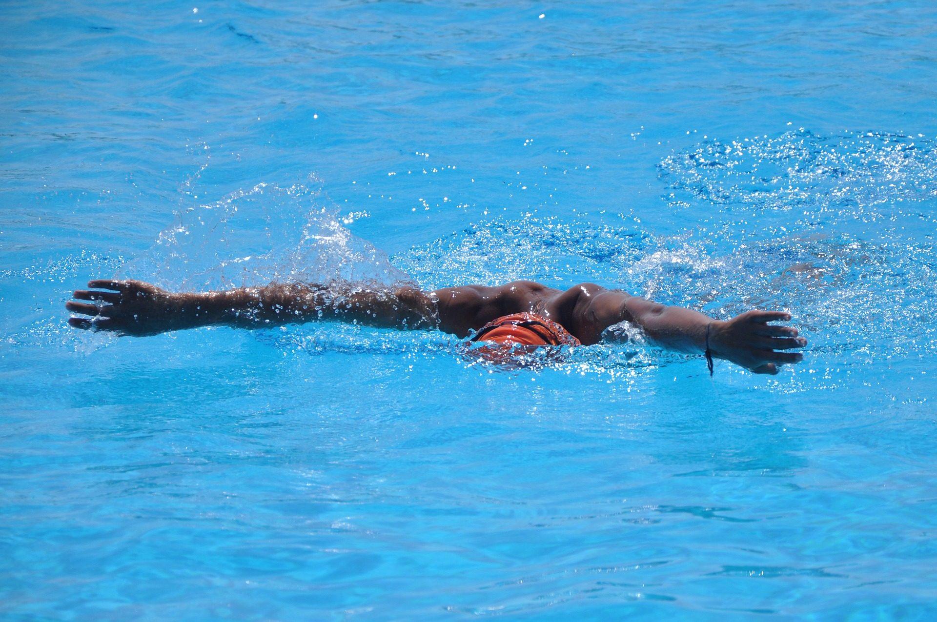 nadador, 游泳, 竞争, 职业生涯, 中风, 帽 - 高清壁纸 - 教授-falken.com
