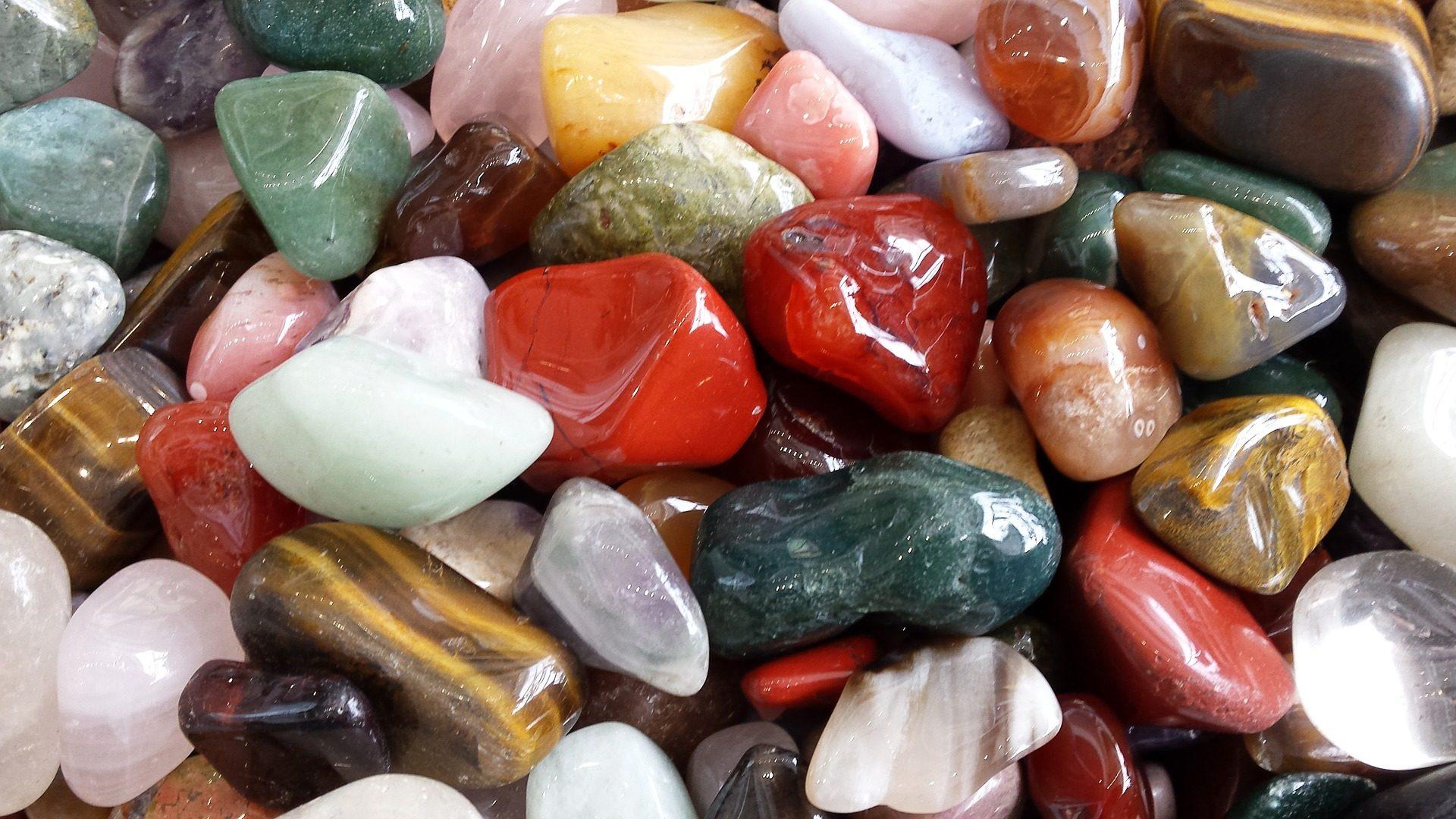 камни, Rocas, Шеенс, красочные, разнообразие - Обои HD - Профессор falken.com