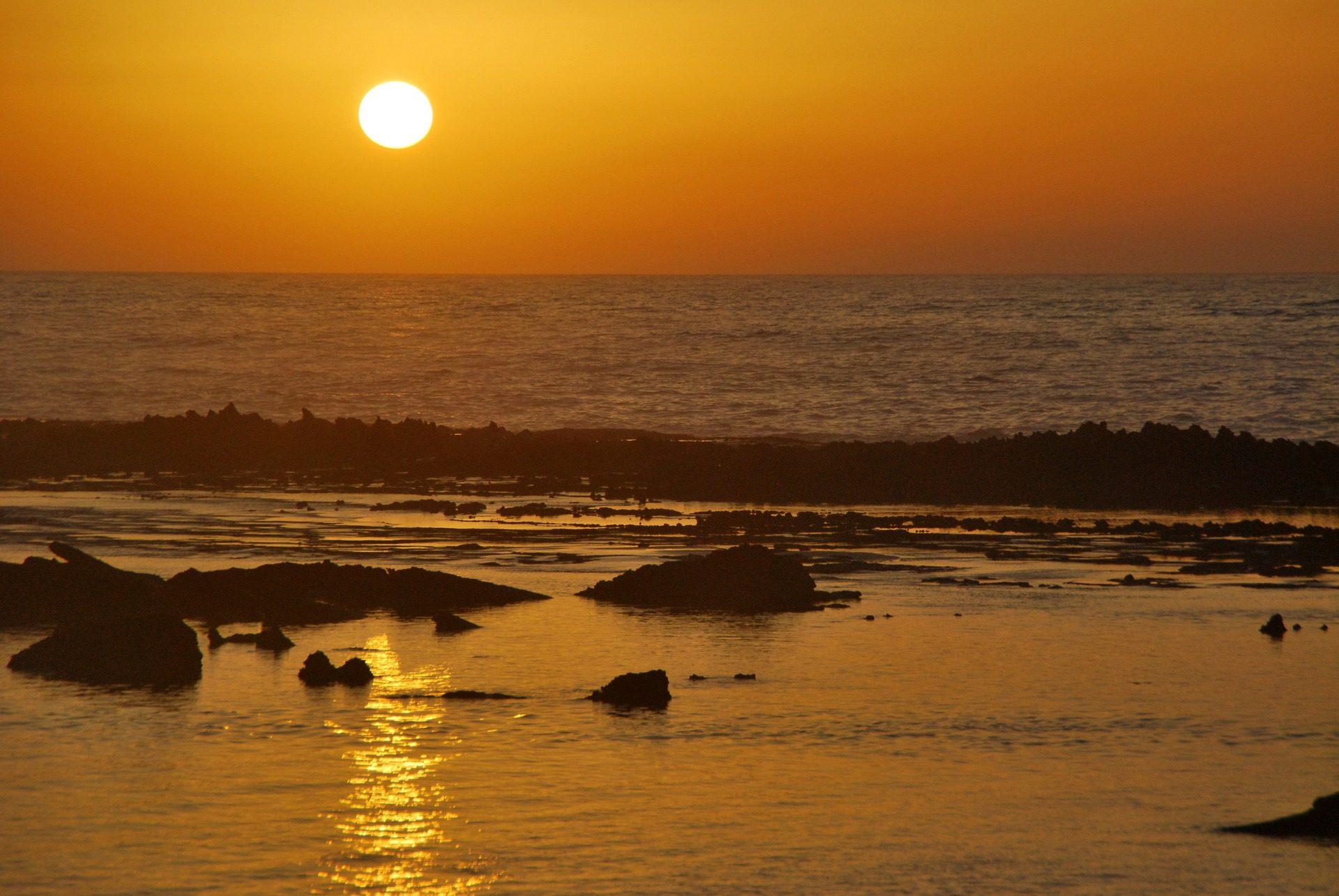 Παραλία, Θάλασσα, πέτρες, Ακτή, Ωκεανός, Κυρ, Ηλιοβασίλεμα - Wallpapers HD - Professor-falken.com