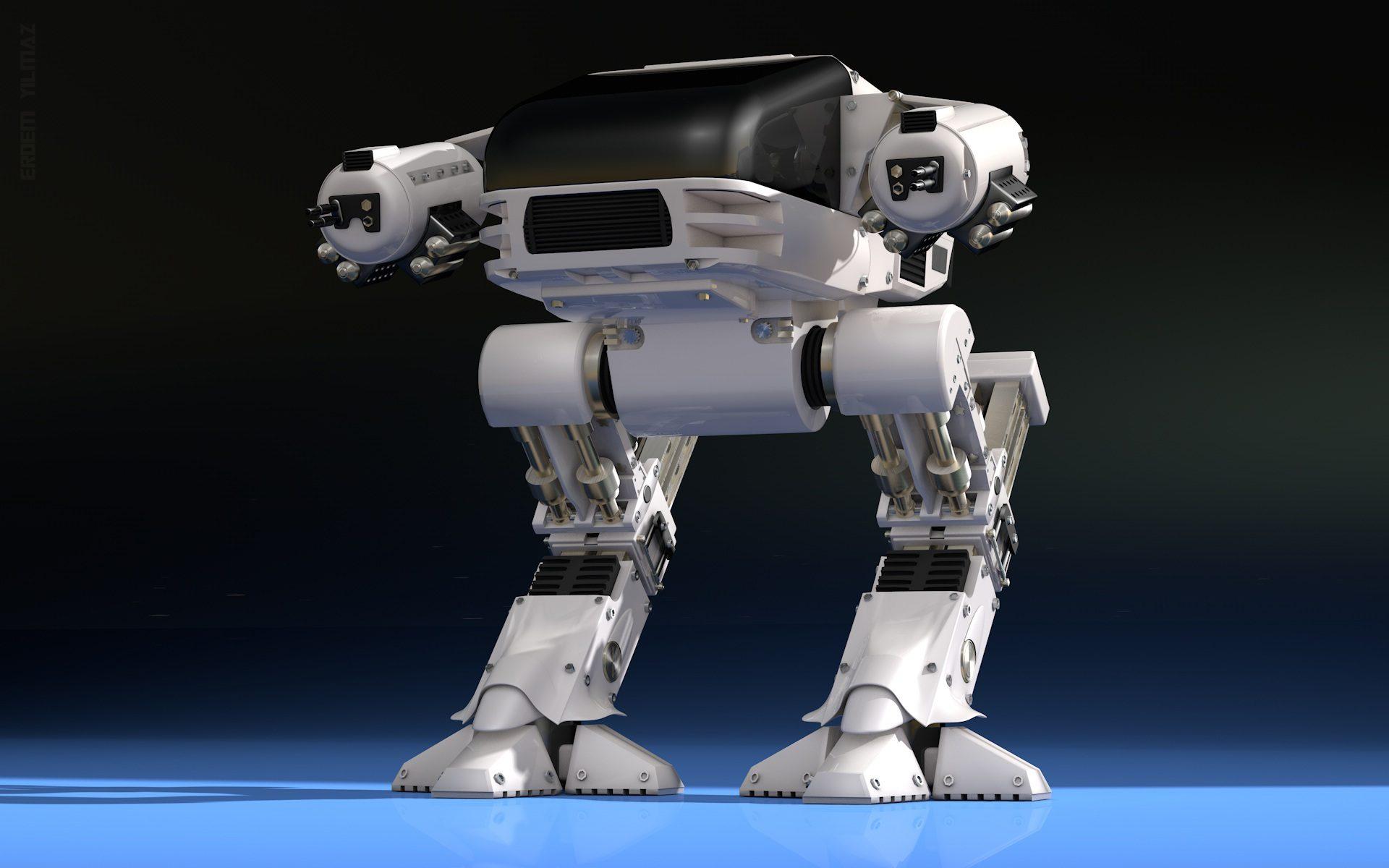 robô, mesh warrior, cyborg, futura, inteligencia artificial - Papéis de parede HD - Professor-falken.com