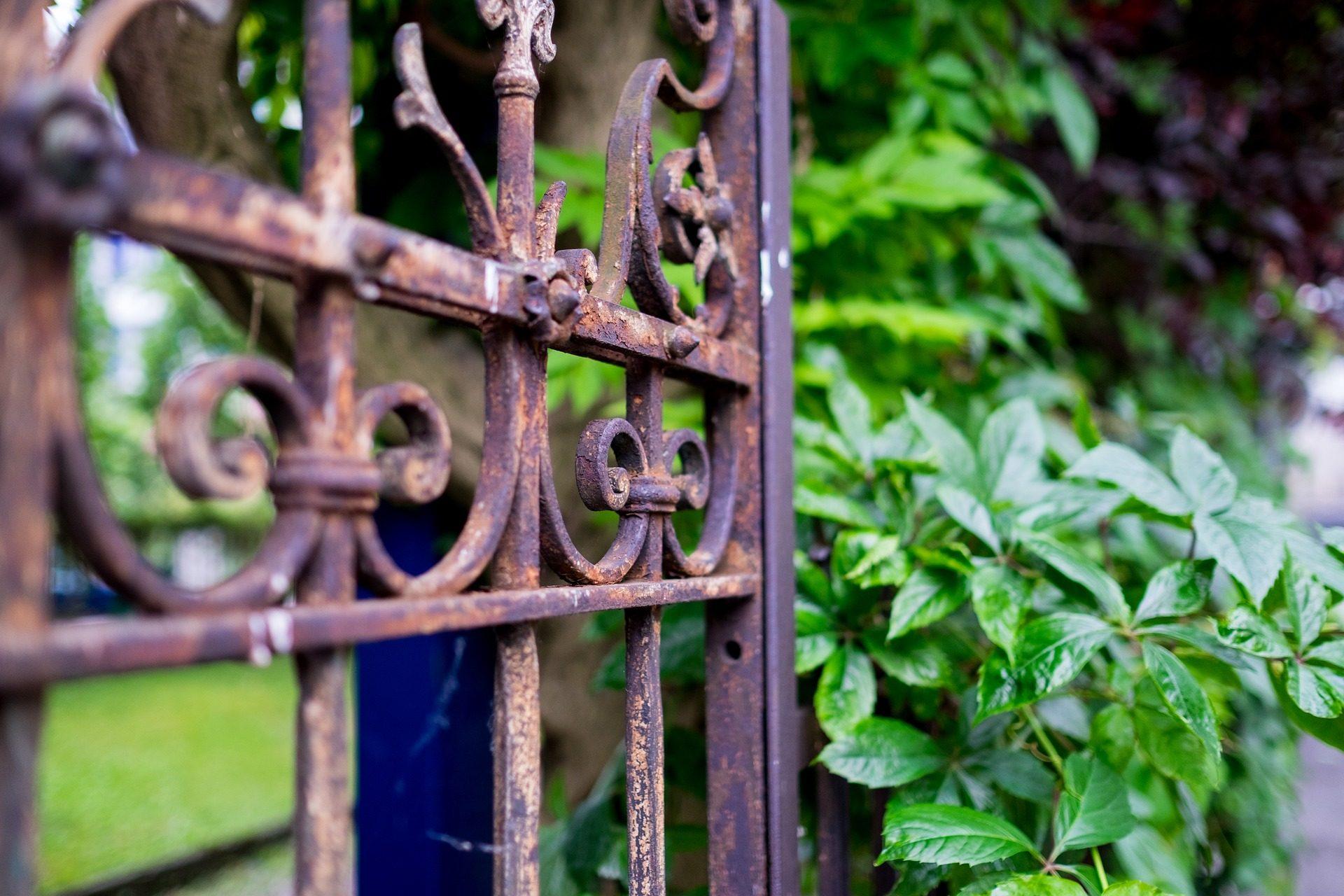 Πύλη, τρίψιμο, παλιά, Σκουριασμένο, Κήπος - Wallpapers HD - Professor-falken.com