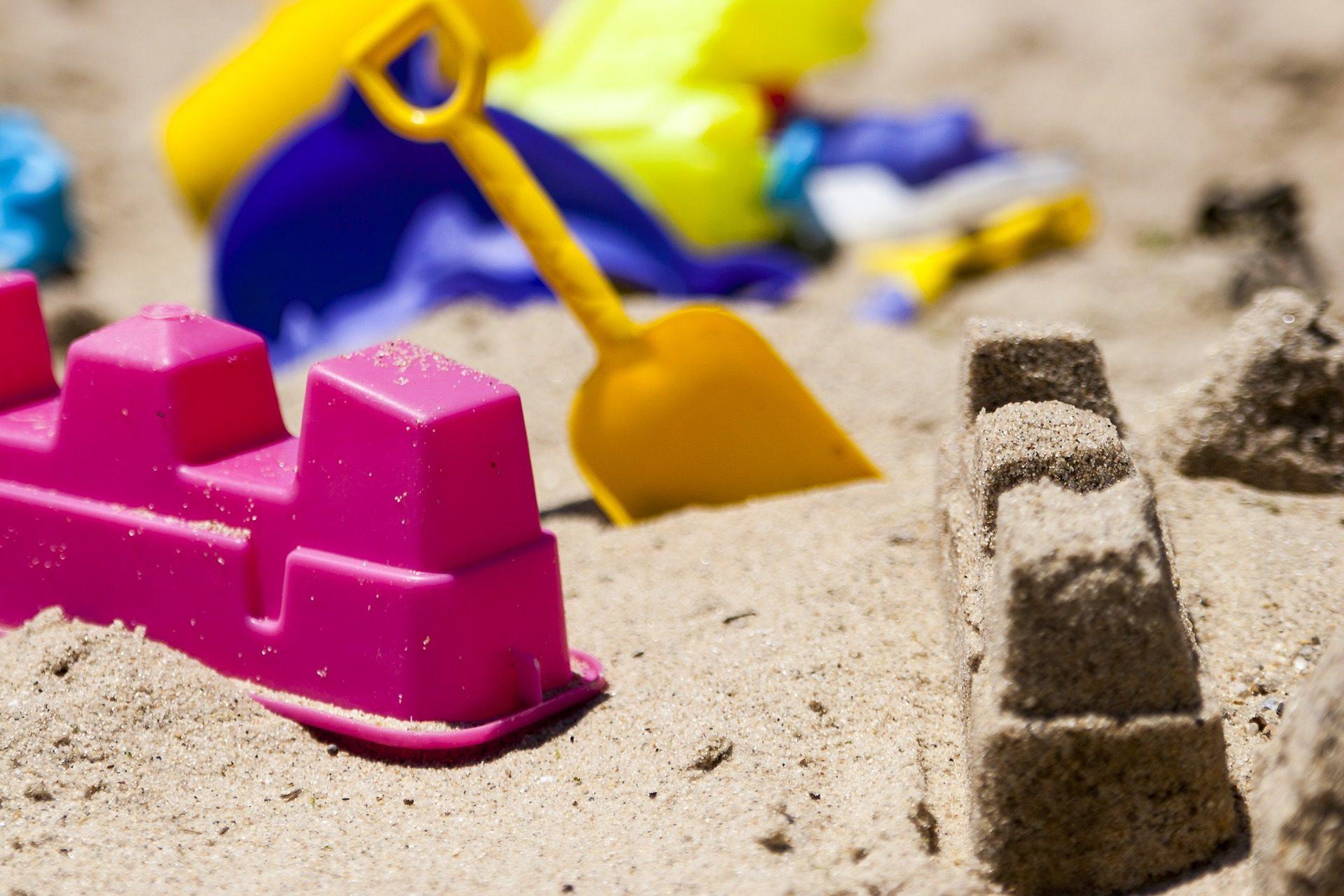 Sand, Strand, Spielzeug, Kunststoff, bunte, Spiel - Wallpaper HD - Prof.-falken.com