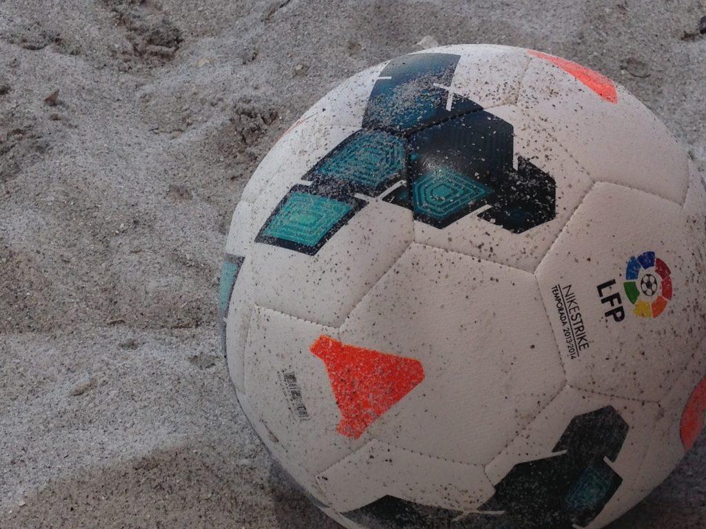 气球, 足球, 海滩, 沙子, 一方, 1708310837