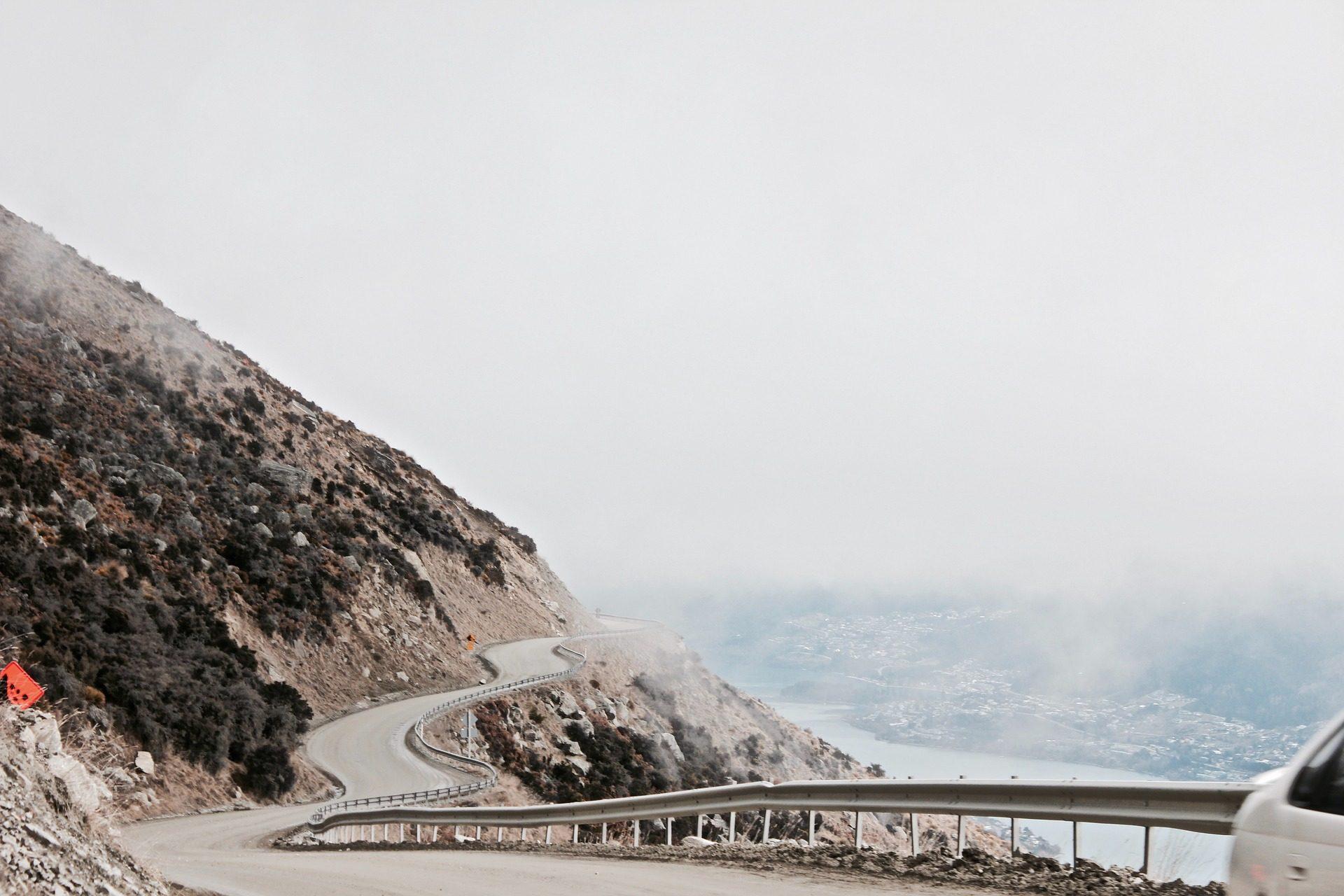 carretera, Mar, montanhas, Estrada, viagens - Papéis de parede HD - Professor-falken.com