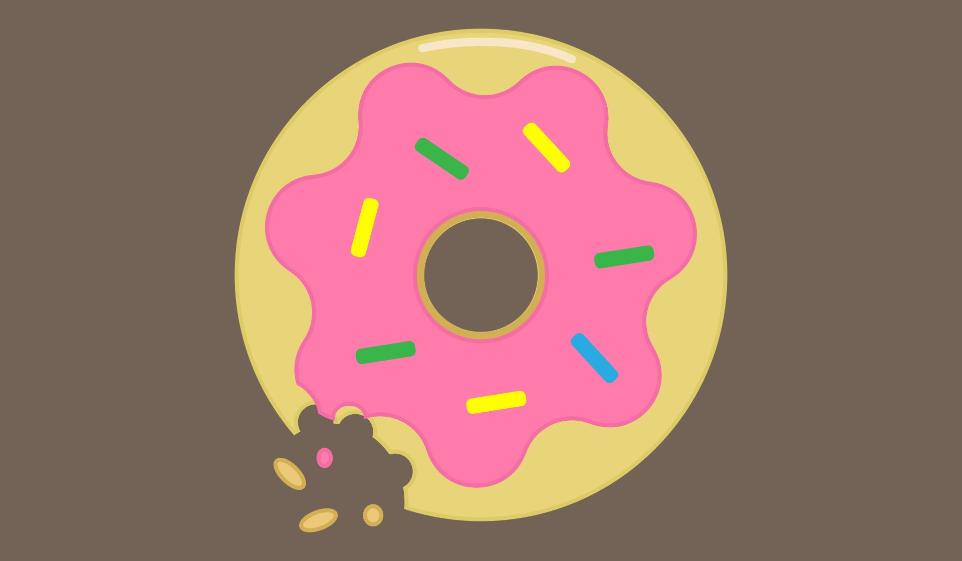 donut, 甜甜圈, 甜, 甜点, 釉料 - 高清壁纸 - 教授-falken.com