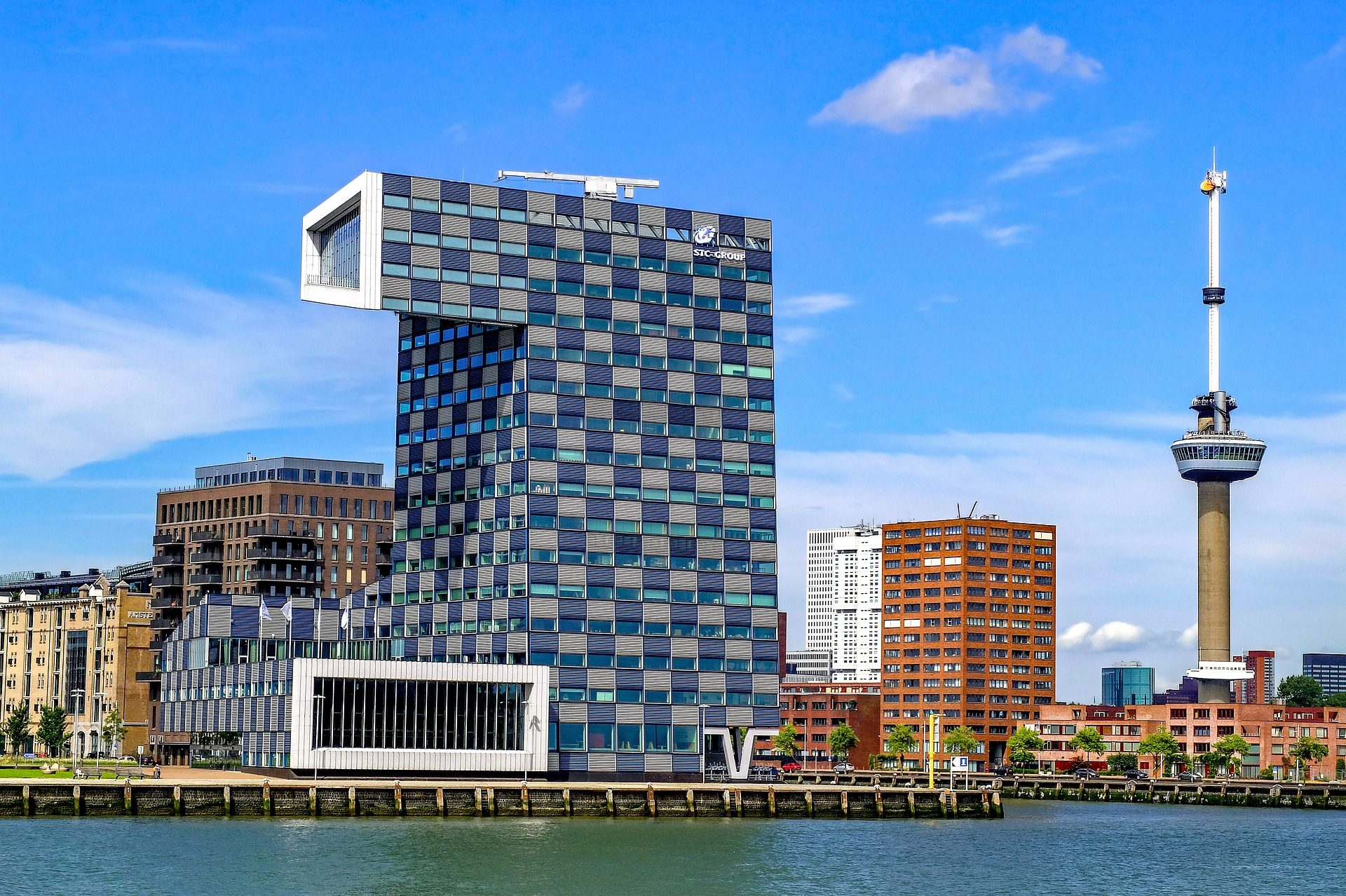 κτίριο, αρχιτεκτονική, μοντέρνο, Πόλη, Λιμάνι - Wallpapers HD - Professor-falken.com