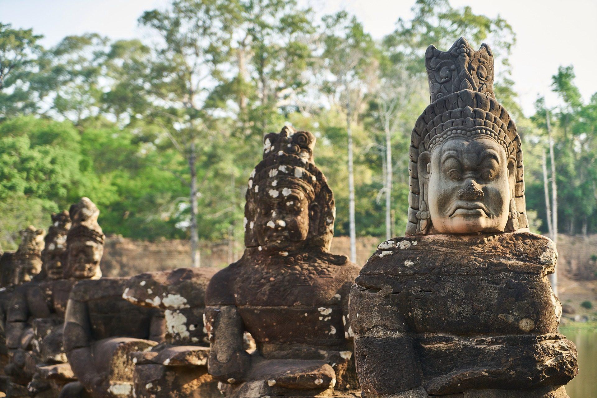 雕塑, 雕像, 石头, 佛教, 宗教 - 高清壁纸 - 教授-falken.com