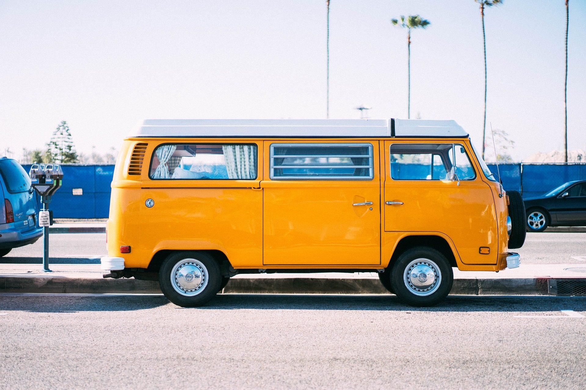 furgoneta, vintage, antigua, viaje, amarilla - Fondos de Pantalla HD - professor-falken.com