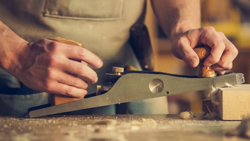 男子, 手, 工艺品, 木材, 芯片, 工作, 1708230842