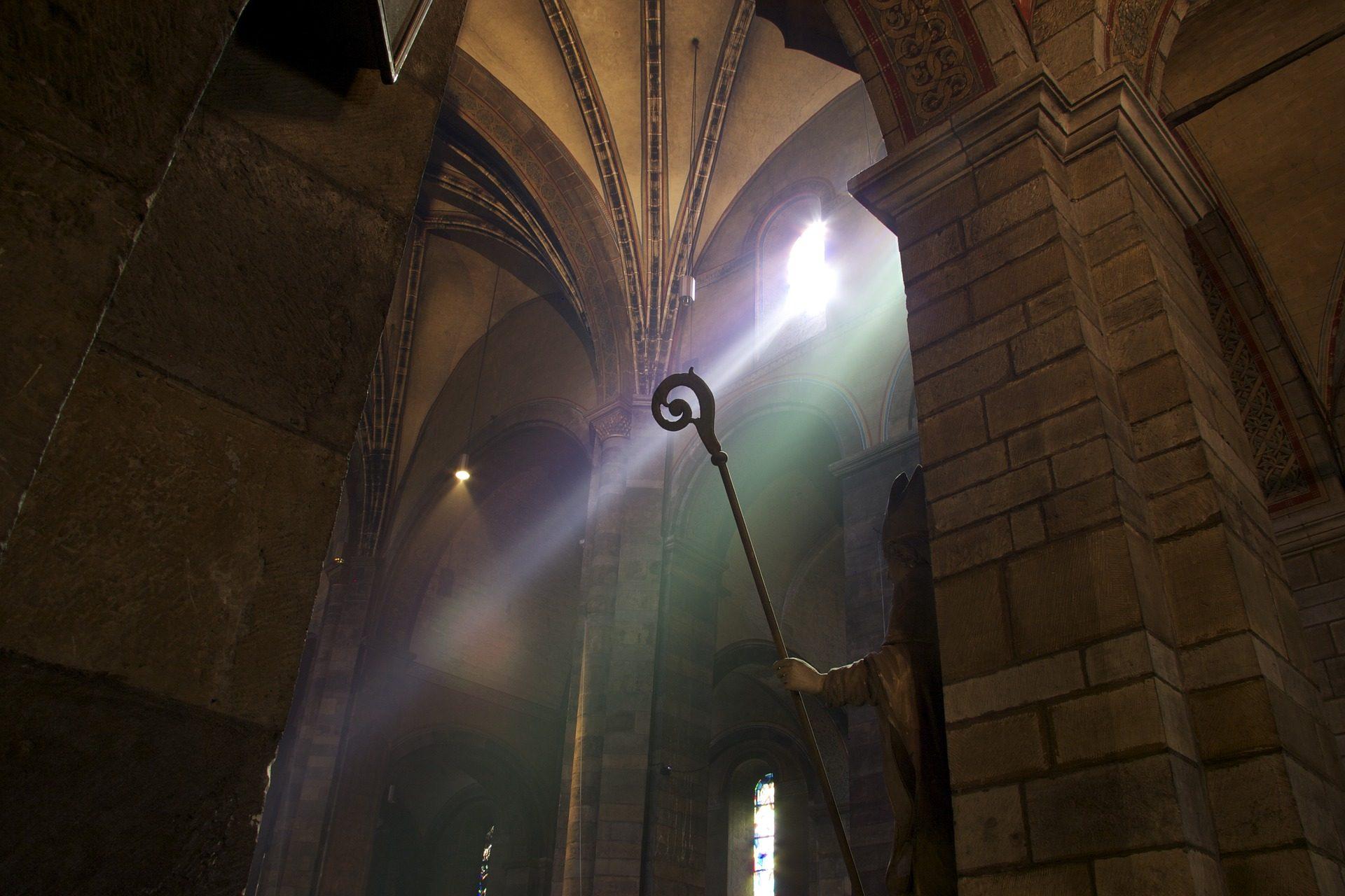 Église, Cathédrale, verre souillé, lumière, coloré - Fonds d'écran HD - Professor-falken.com