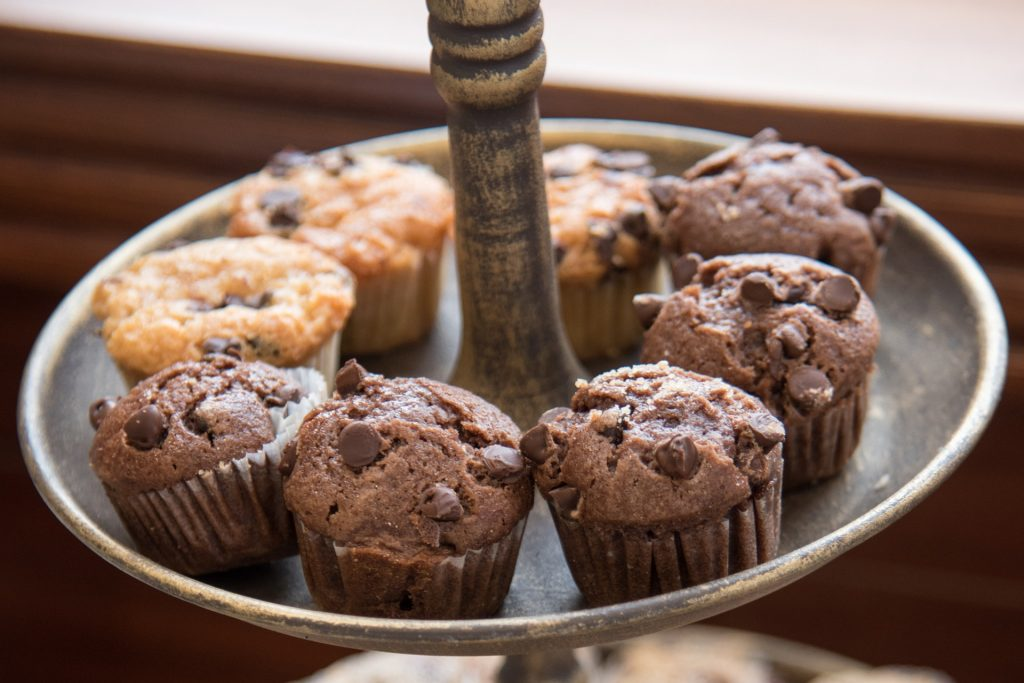 纸杯蛋糕, 松饼, 甜, 甜点, 糕点, 巧克力, 1708251845