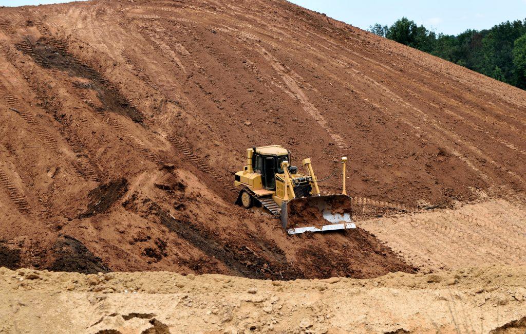 机器, excavadora, excavación, 沙子, pala, 1708071745