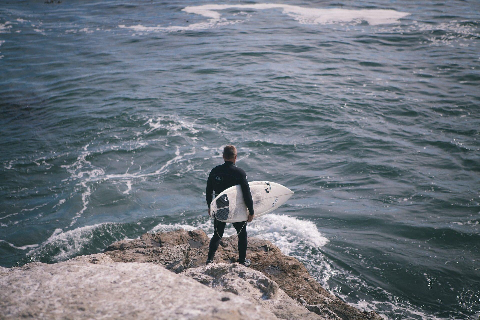 सागर, Rocas, आदमी, surfer, सर्फ, तालिका - HD वॉलपेपर - प्रोफेसर-falken.com