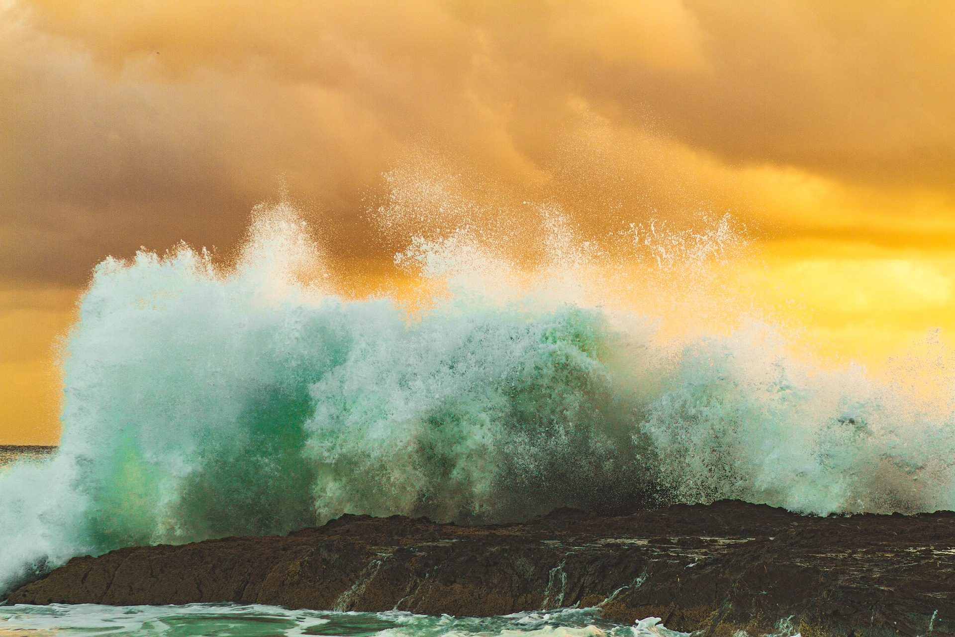 海洋, 海, 波, 力, 危险, 风险 - 高清壁纸 - 教授-falken.com