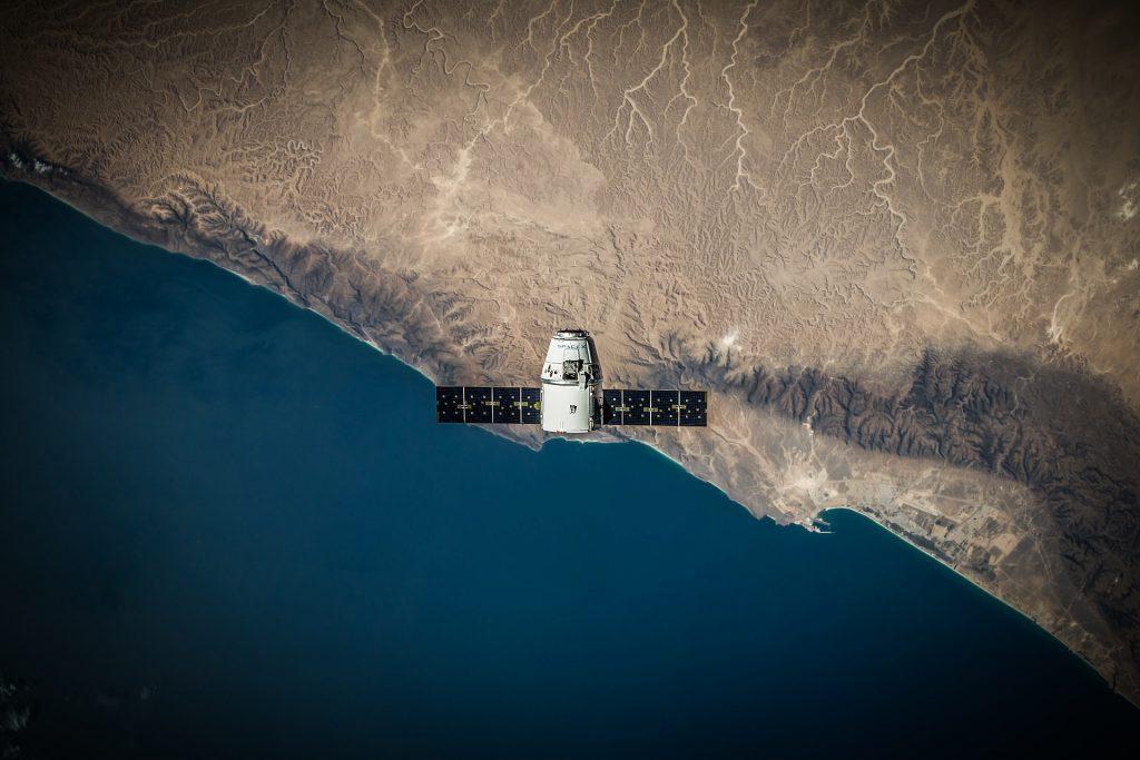 satélite, órbita, tierra, océano, altura, 1708292333