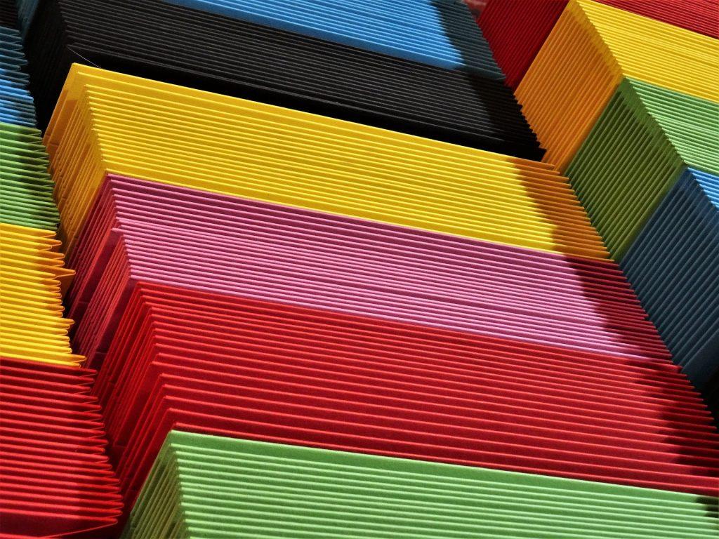 sobres, cartulinas, colorido, papeles, cartas, 1708301629