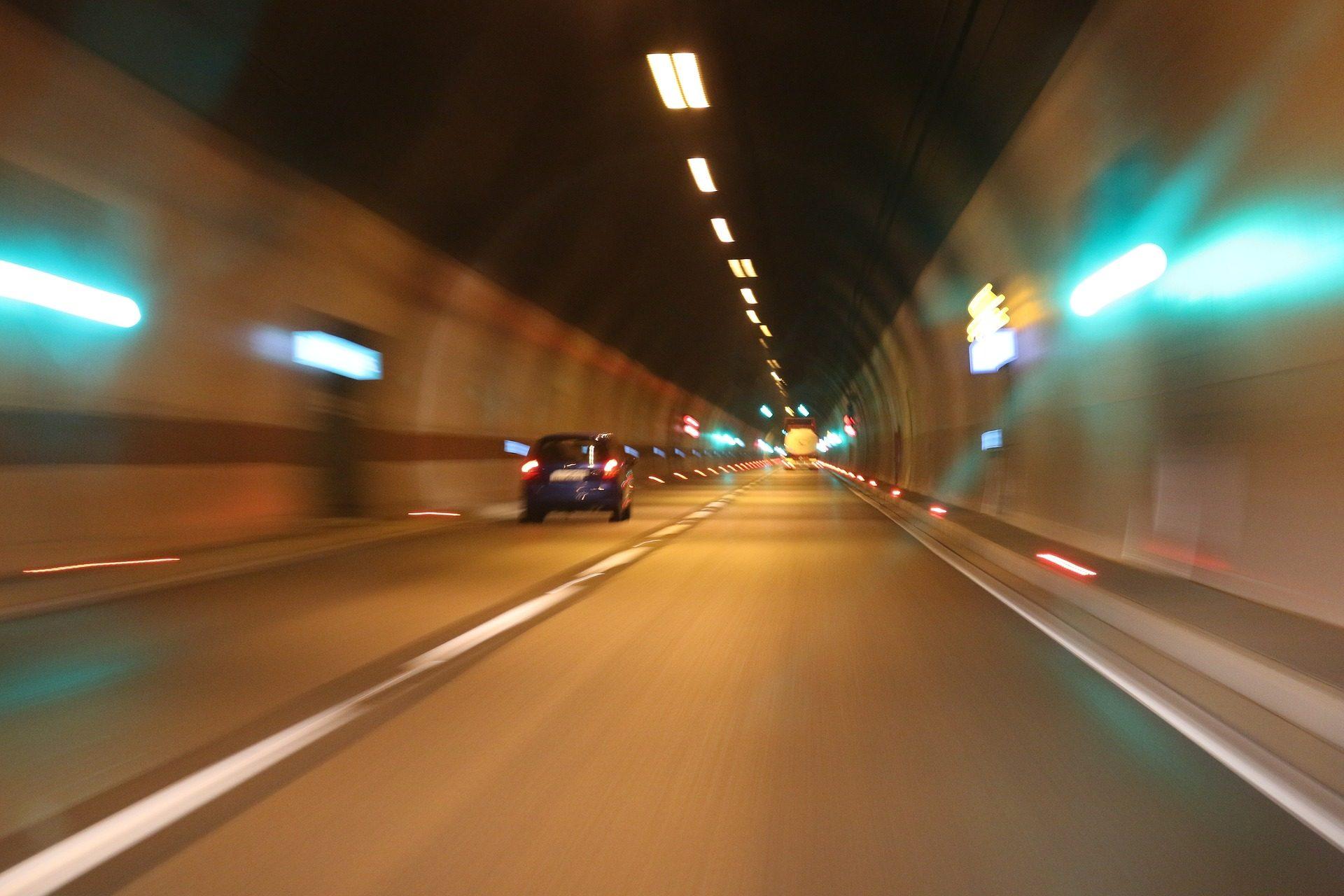 隧道, 道路, 汽车, 速度, 灯 - 高清壁纸 - 教授-falken.com