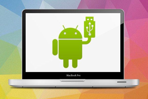 Как передавать файлы между телефоном Android и Mac.