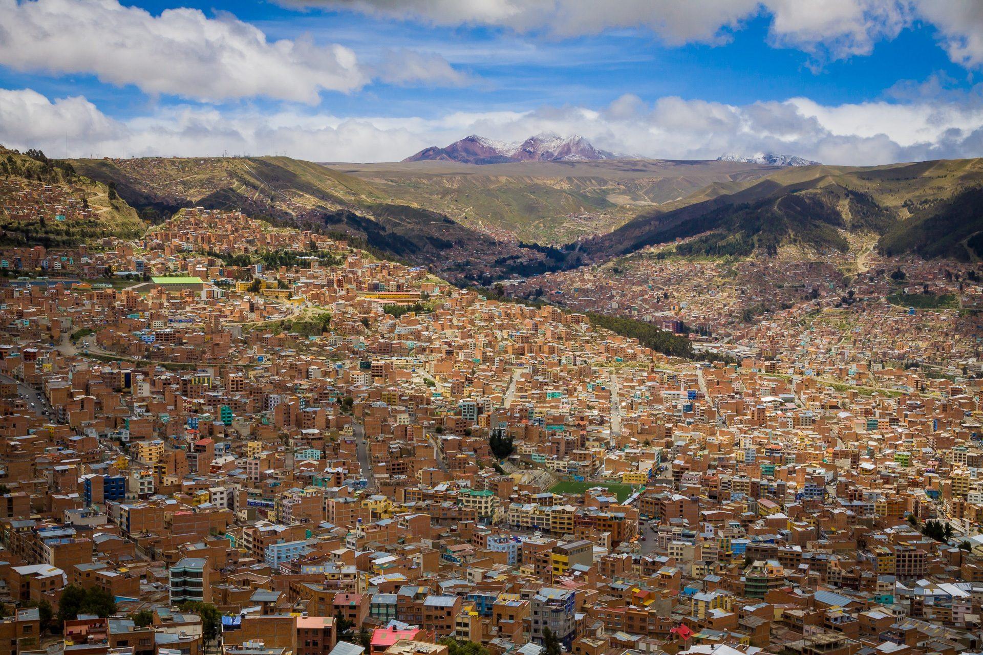 Fondo de pantalla de ciudad casas edificios cantidad for Casas minimalistas la paz bolivia