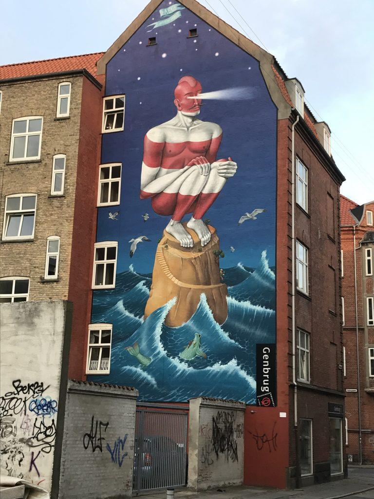 Grafite, pintura, fachada, edifício, arte, 1709221443