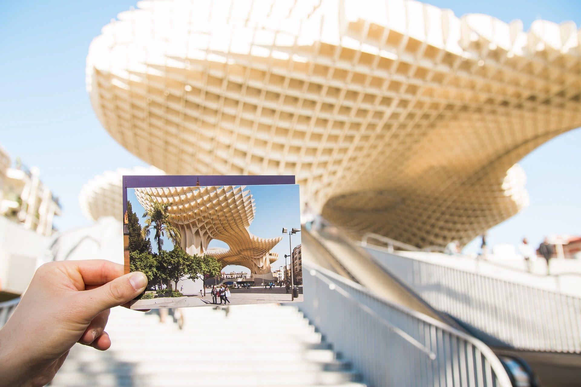 Fondo de pantalla de metropol parasol setas postales - Arquitectura sevilla ...