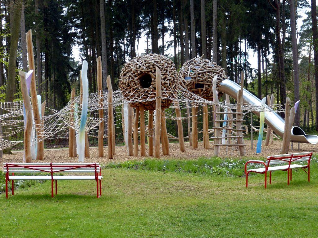 parque, infantil, juegos, redes, tobogán, asientos, 1709161718