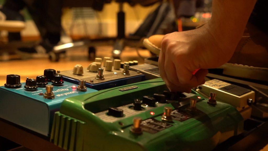 ペダル, ギター, ボタン, ホイール, aparatos, 手, 1709131148