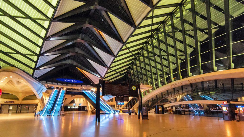 Flughafen, Gebäude, Architektur, Solo, lyon, 1710221738