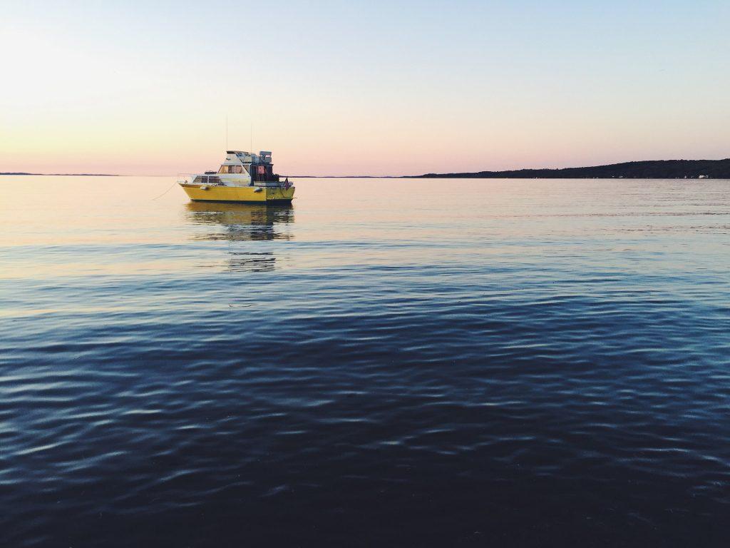barco, mar, océano, calma, relax, 1710201149