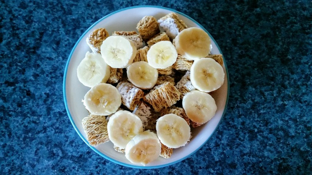 cereales, plátano, cuenco, dieta, desayuno, 1710041651