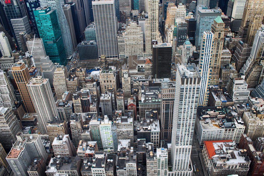 Stadt, Urbe, Wolkenkratzer, Agglomeration, Gebäude, New york, 1710221359