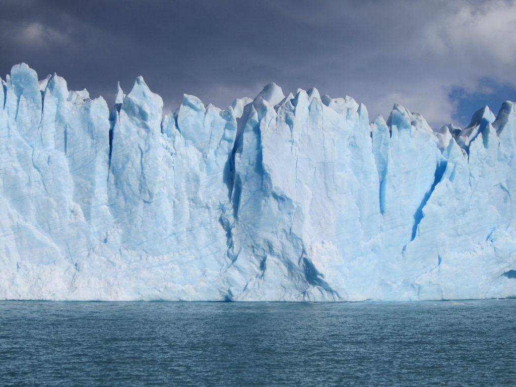 Glacier, iceberg, glace, Arctique, nuages, 1710240815