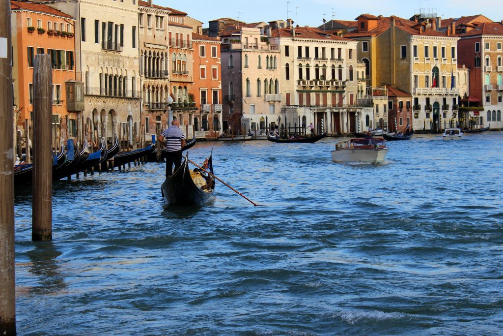 góndola, barcas, canal, venecia, turismo, italia, 1710102220