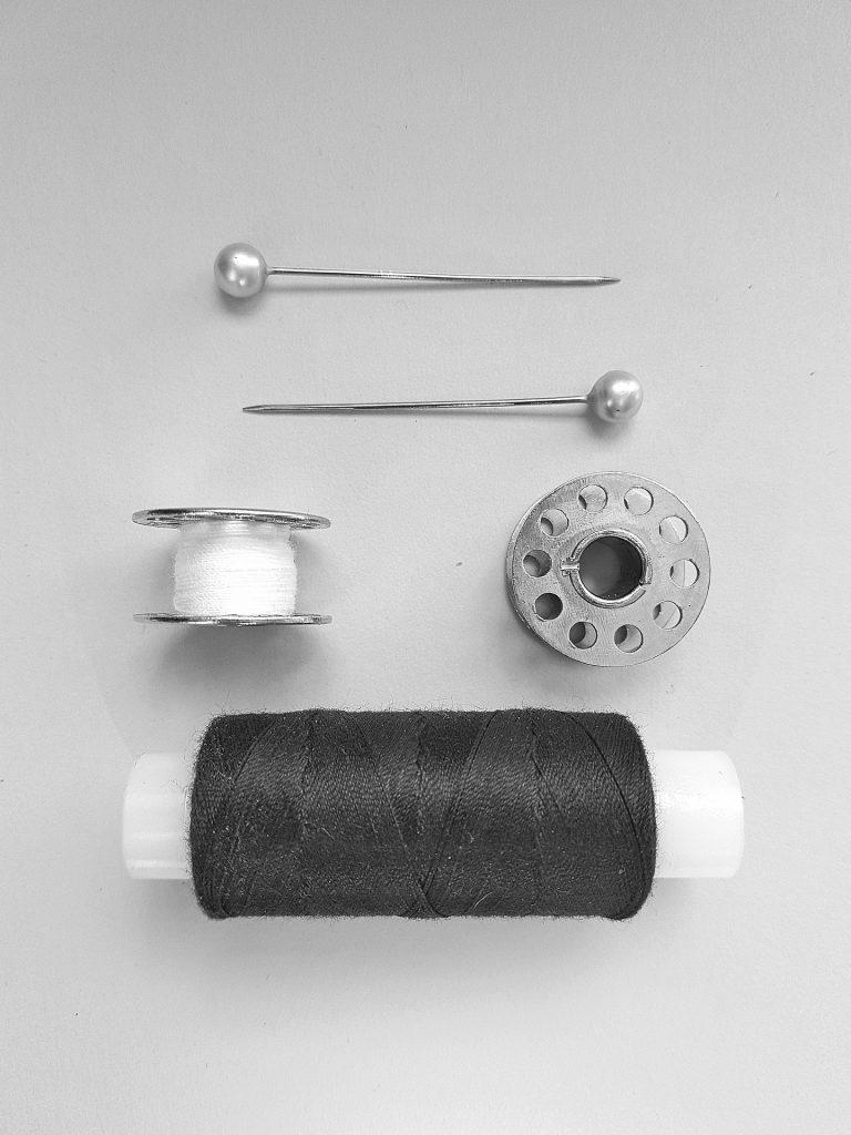 hilo, alfileres, carrete, bobina, canillas, coser, 1710091906