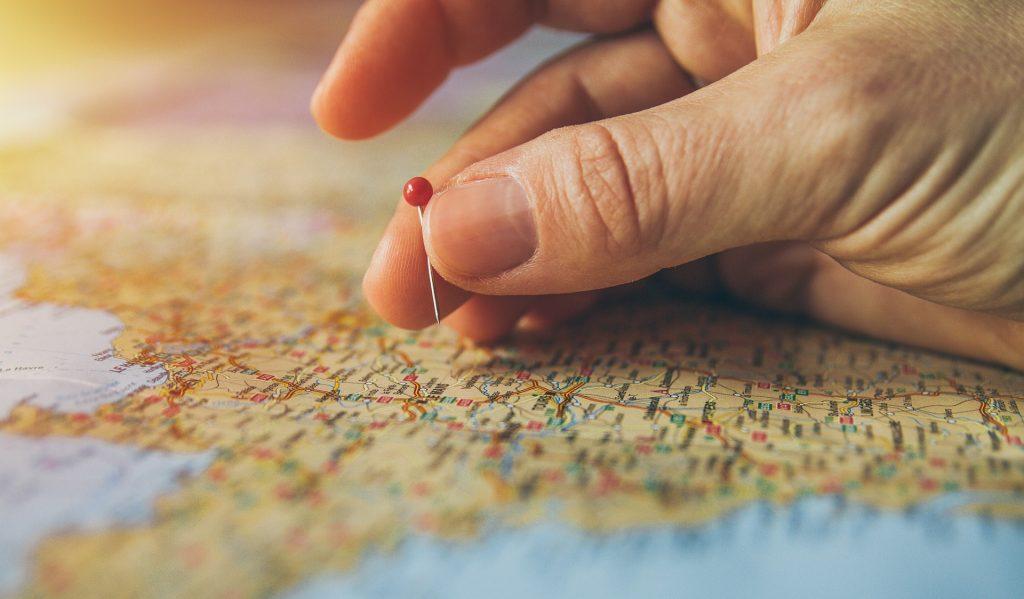 mapa, pin, punto, mano, viaje, geografía, 1710180815