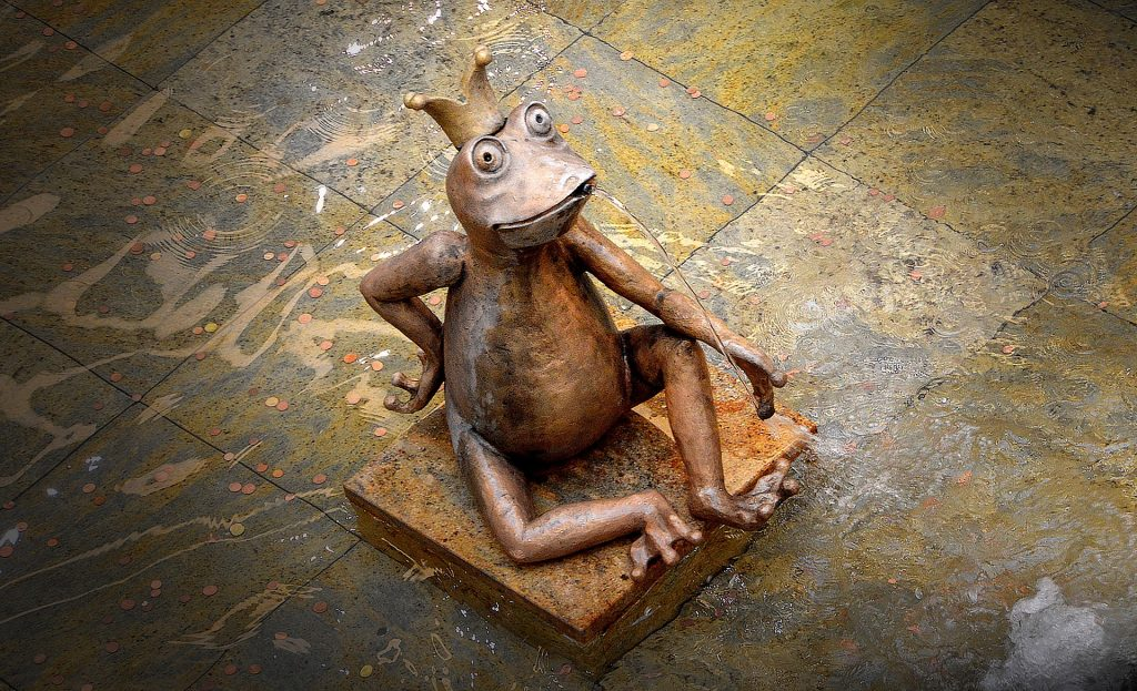 青蛙, 国王, 皇冠, 图, 雕塑, 1710212304