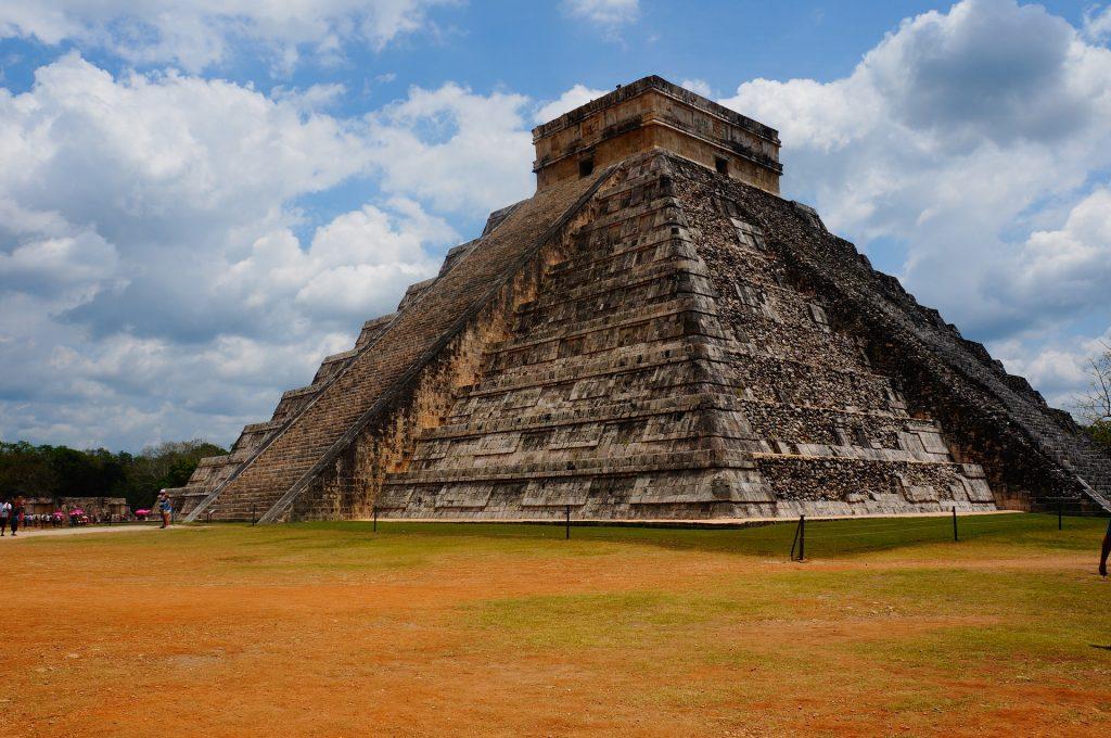 templo, edificación, antiguo, ancestros, yucatán, méxico, 1710142221