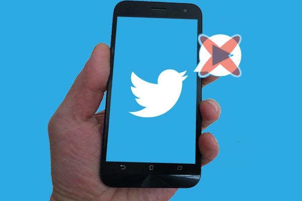Como desativar a reprodução automática de vídeos do Twitter no seu Android