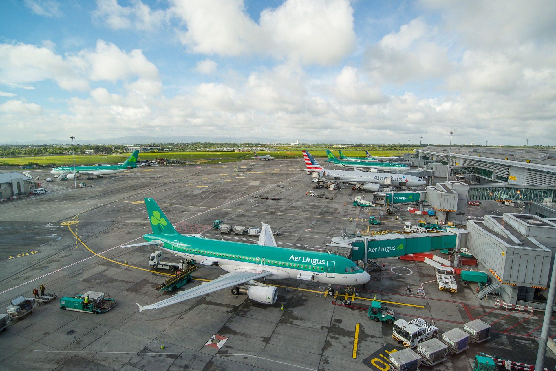 Αεροδρόμιο, παρακολουθείτε, υπόστεγα, aviones, αεροσκάφη, εμπορική - Wallpapers HD - Professor-falken.com