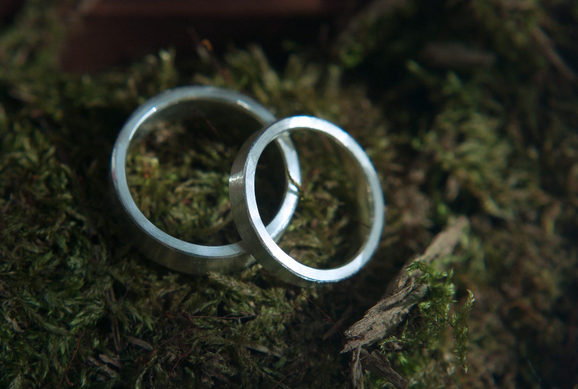 δαχτυλίδια, συμμαχίες, υπόσχεση, Αγάπη, σύνδεση, γρασίδι - Wallpapers HD - Professor-falken.com