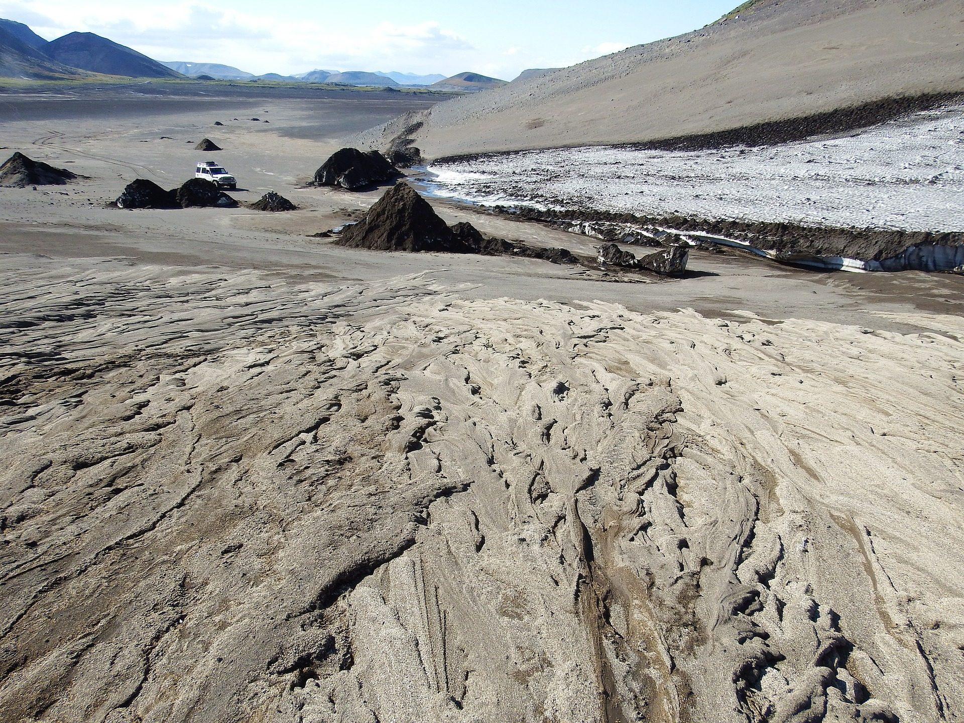 песок, пустыня, Монтанья, камни, автомобиль, грязи - Обои HD - Профессор falken.com