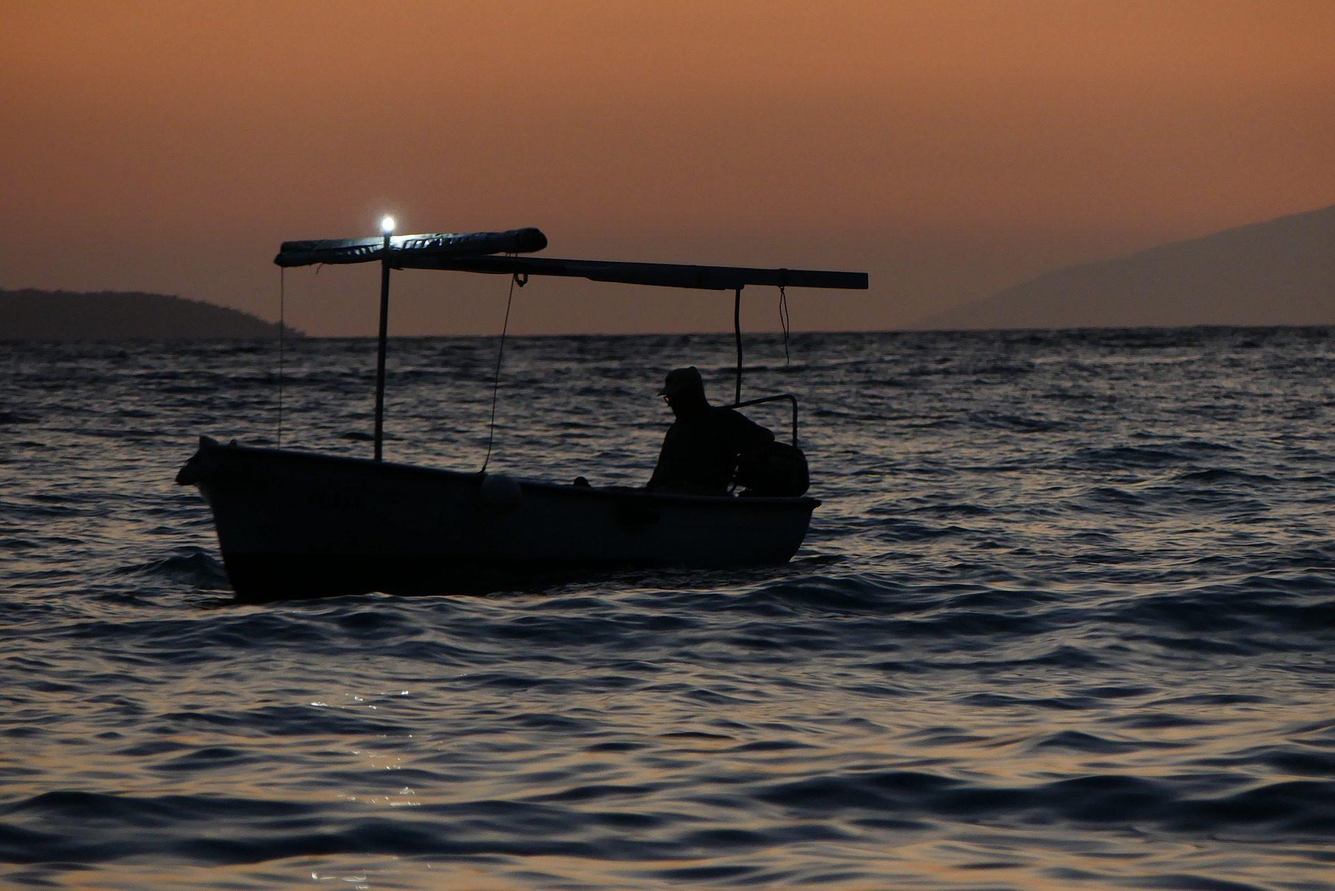 バルサ, 釣り, 漁師, サンセット, 海 - HD の壁紙 - 教授-falken.com