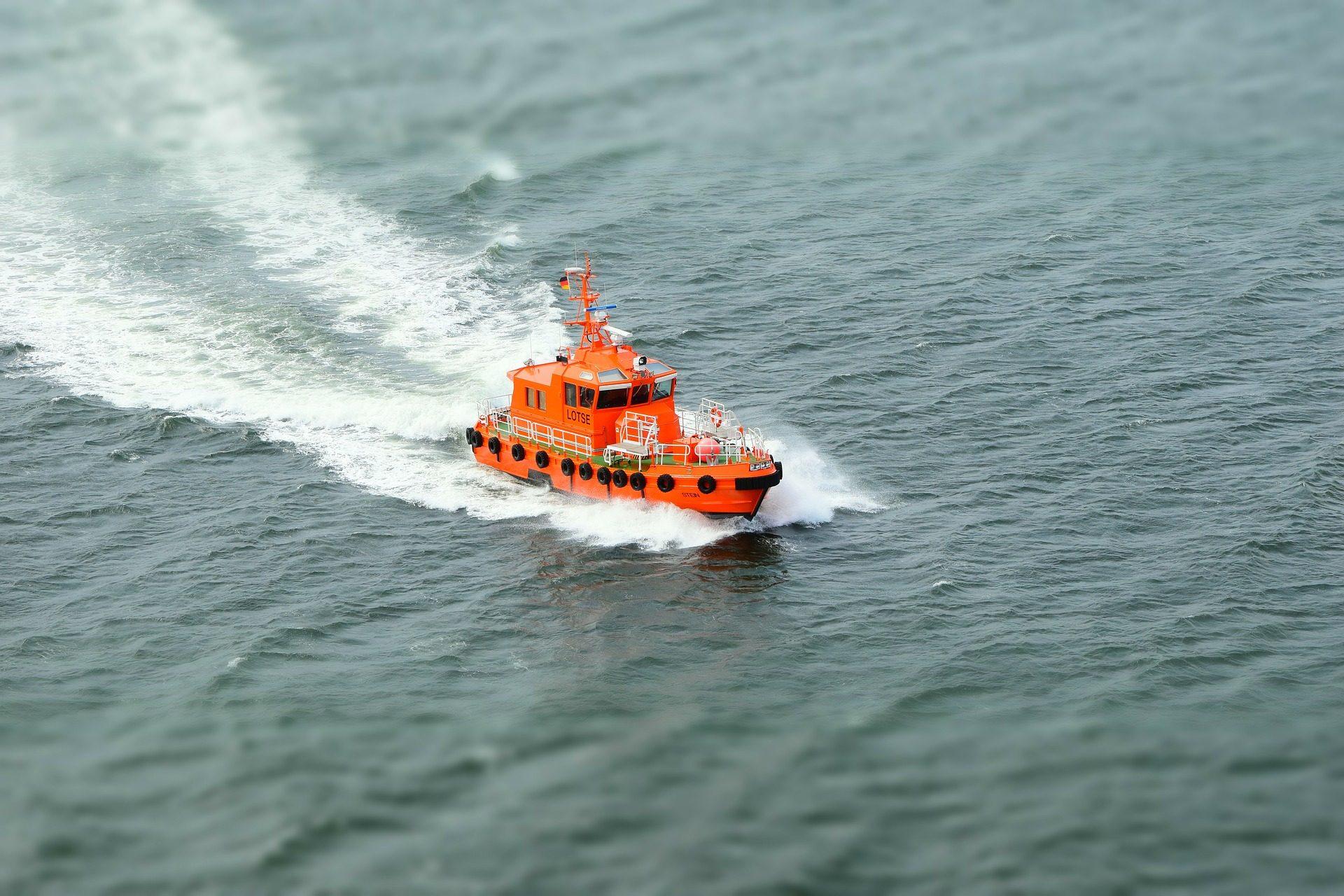 barco, lancha, salvamento, guardacostas, mar, velocidad - Fondos de Pantalla HD - professor-falken.com
