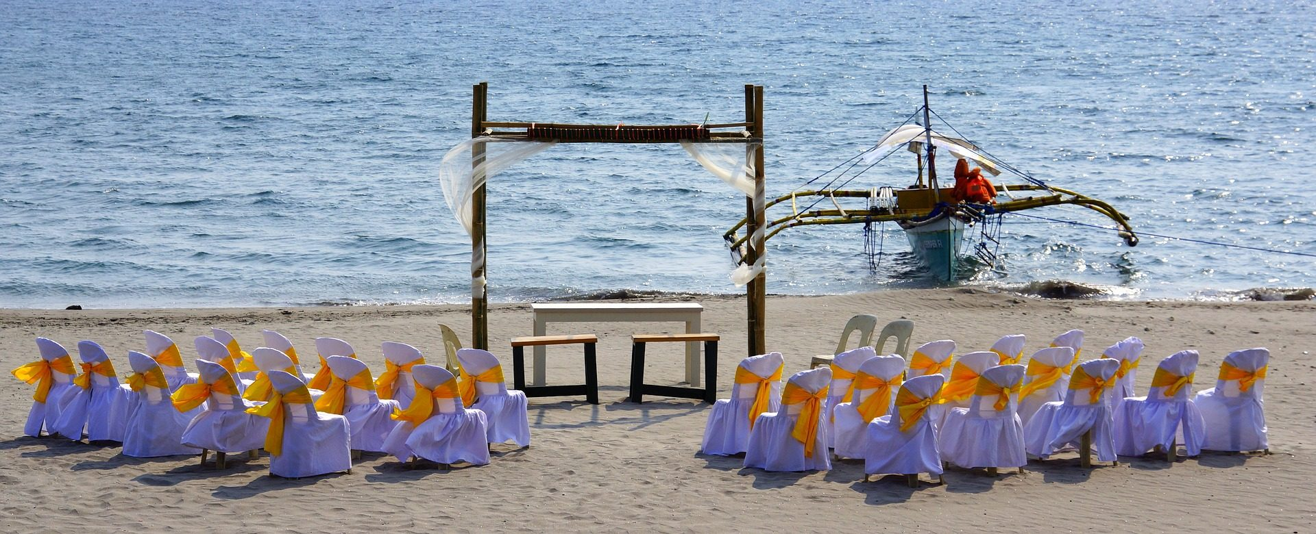 婚礼, 婚姻, 庆祝活动, 海滩, 沙子, 海 - 高清壁纸 - 教授-falken.com