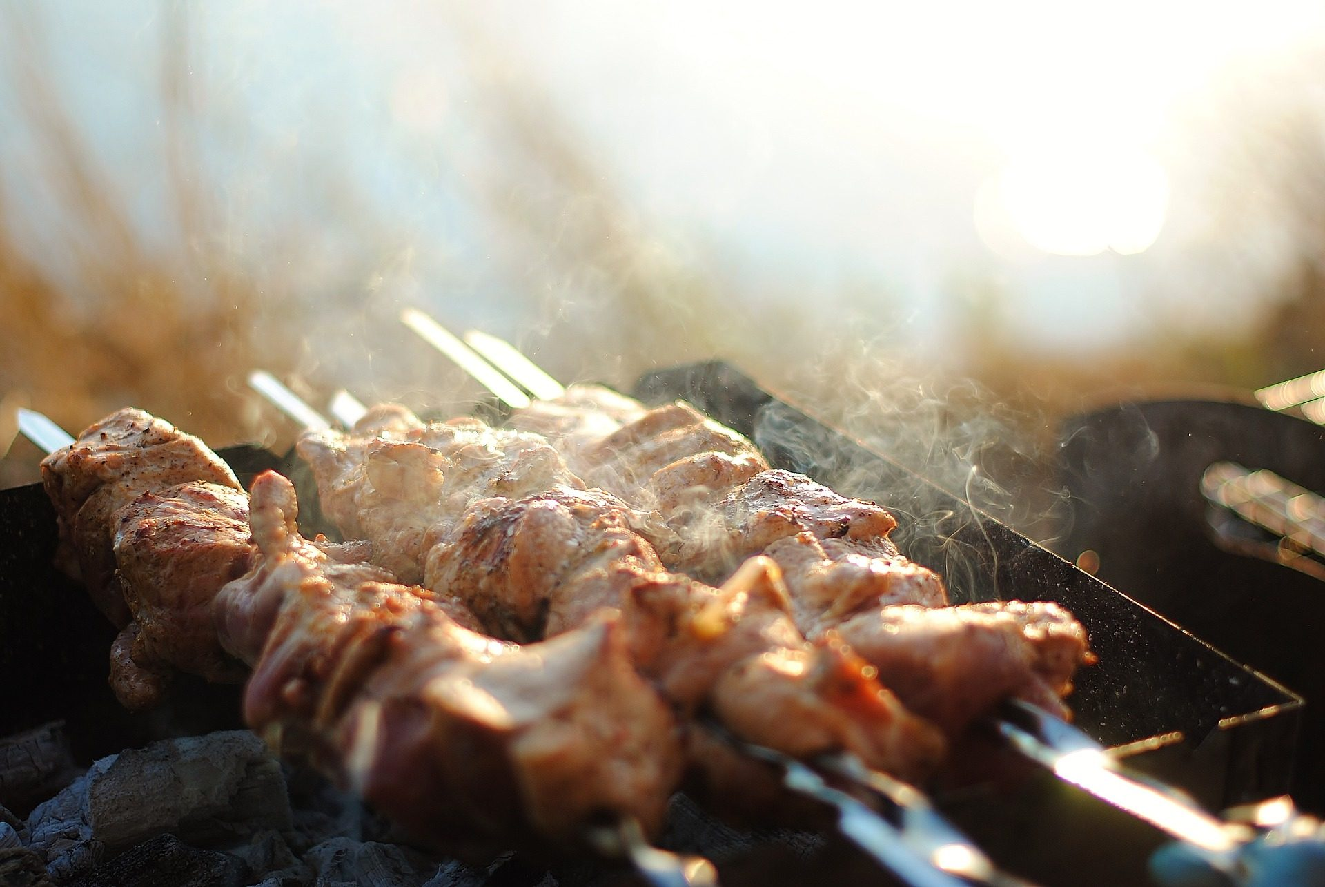 carne, spiedini, barbecue, Kebab, Griglia - Sfondi HD - Professor-falken.com