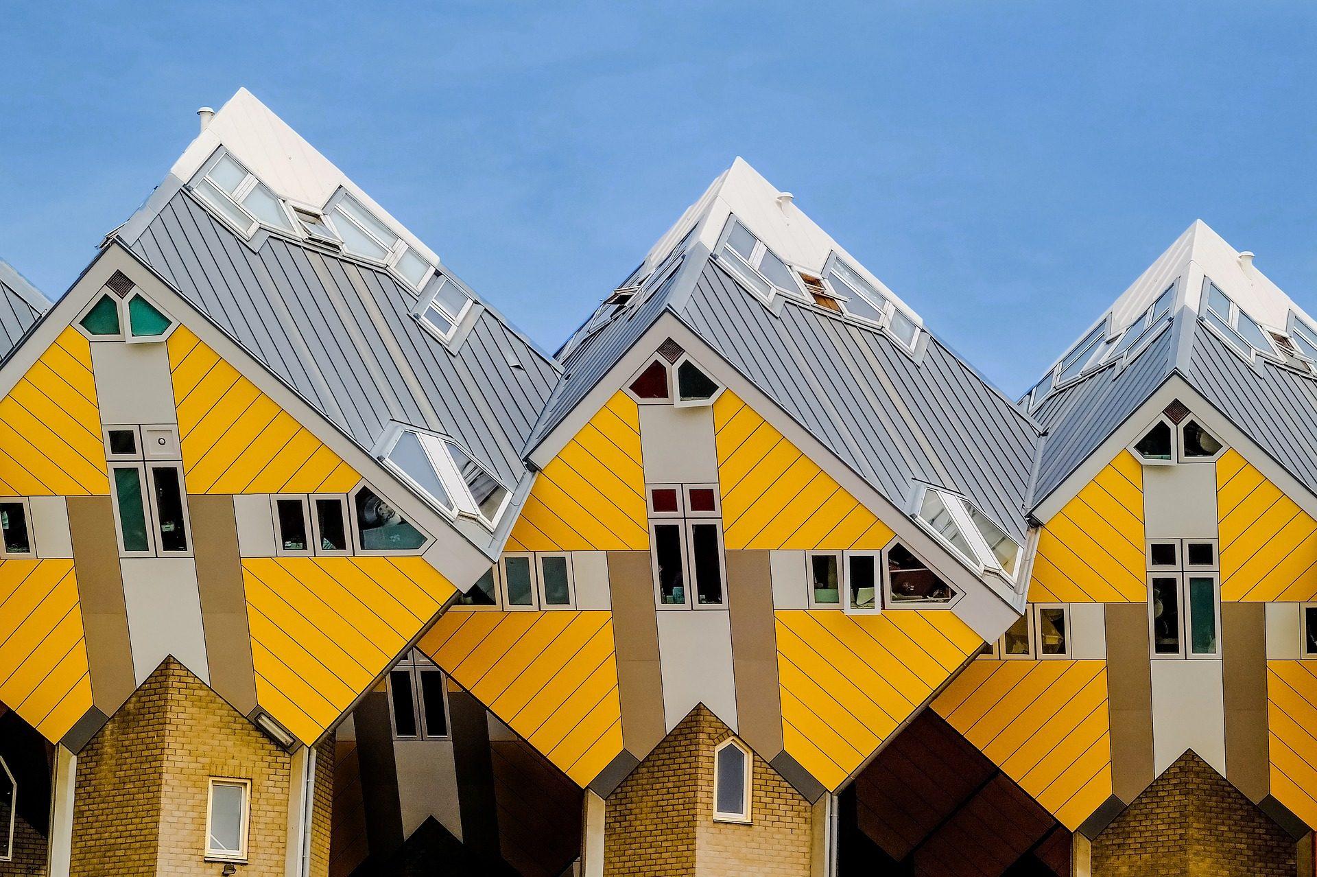 住宅, アーキテクチャ, モダンです, キューブ, 屋根 - HD の壁紙 - 教授-falken.com