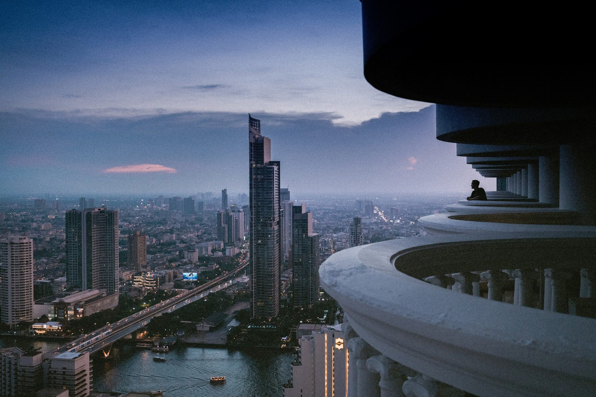 城市, 视图, 高地, 建筑, 摩天大楼 - 高清壁纸 - 教授-falken.com